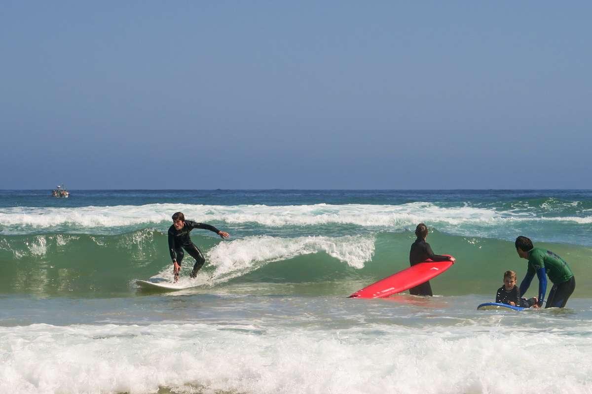 Private surf lesson Surf Atlantic